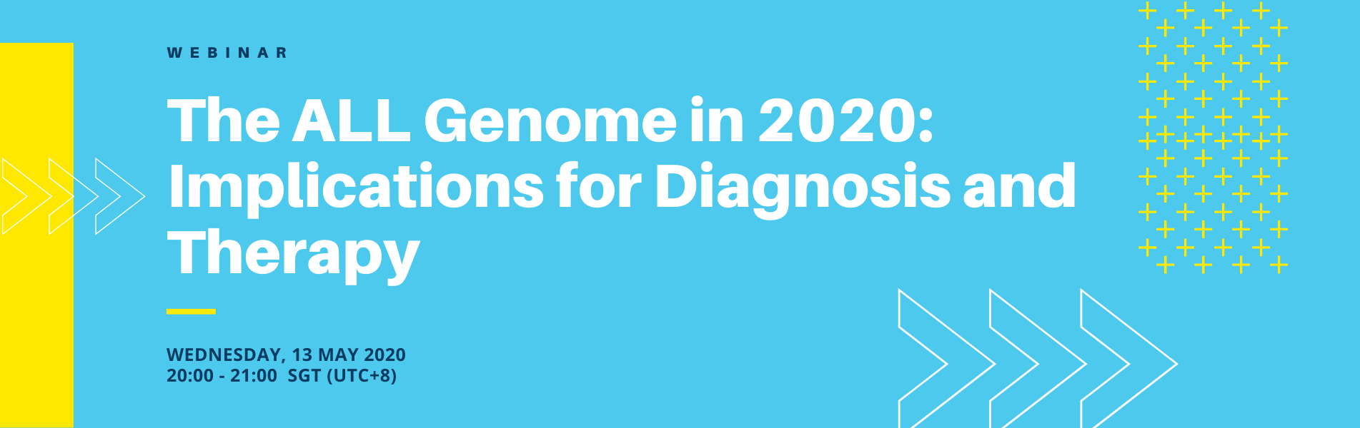 Webinar: The ALL Genome in 2020